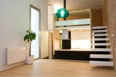 400 Square Foot Loft Digs Down For Extra Space : TreeHugger