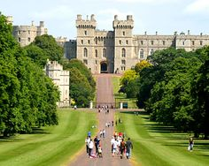Windsor Castle is the most famous of all castles in England
