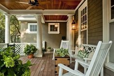I want a porch like this