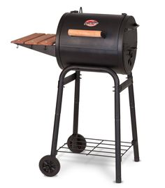 Cast Iron Charcoal Grill Smoker Patio BBQ Outdoor Cooking Portable Cart Compact  #nonbranded