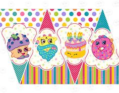 """Check out new work on my @Behance portfolio: """"Printable kit for birthdays"""" http://be.net/gallery/41682203/Printable-kit-for-birthdays"""