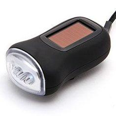 Lampe Torche Solaire + Manivelle Dynamo Chargeur, plus de courant (forcément) alors qu'on aura besoin de lumière quand-même !