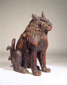 重要文化財 狛犬 鎌倉時代(13世紀)
