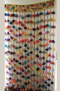 Doorway Curtain: it's kinda hideous, but I kinda love it. The cats would destroy it so fast!