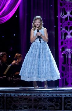 Jackie Evancho. . .again, the dress!