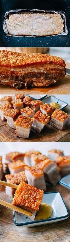 Cantonese Roasted Pork Belly