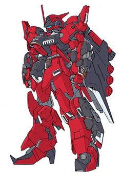 AMX-018CA[HADES] Todesritter Char Aznable use by charizard-aznable