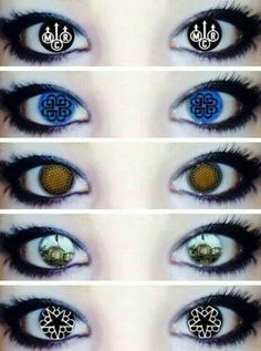 Band eyes! I want mcr eyes, they will never let them take the light behind my eyes