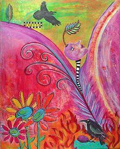 Eye Candy Art * Rachelle Hartley * Mixed Media Art and Illustrations: ART Candy Art, Eye Candy, Mixed Media Artists, Medium Art, Illustrator, Digital Art, Illustration Art, Projects, Inspiration