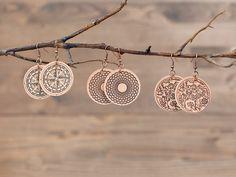 DIY Leather Earrings. Make It Now in Cricut Design Space