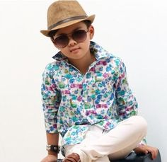 Floral dress shirt. Sizes 2-3yrs, 4-5yrs, 5-6yrs, 6-7yrs. $12 Floral Shirt Dress, Long Sleeve Floral Dress, Dress Shirt, Panama Hat, Size 2, Dresses With Sleeves, Clothing, Shirts, Fashion