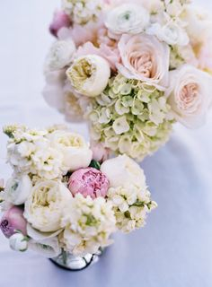 Wedding Colors Pastel Floral Arrangements For 2019 Trendy Wedding, Floral Wedding, Wedding Colors, Wedding Bouquets, Our Wedding, Dream Wedding, Bridesmaid Bouquets, Flower Bouquets, Peonies And Hydrangeas