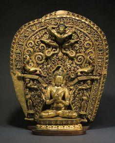 Newar art for Tibetan Patrons Budha Art, Greek Statues, Tibetan Art, Hindu Art, Buddhist Art, Gods And Goddesses, Chinese Art, Asian Art, Ancient Civilizations