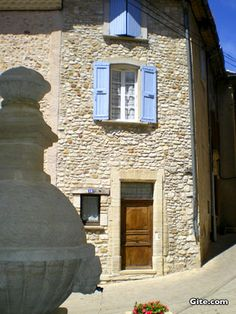 À la Fontaine de Sablet,  Vaucluse (84), Provence-Côte d'Azur, France