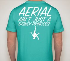 Aerial ain't just a Disney Princess! - Gymnastics tee! I want this!!!