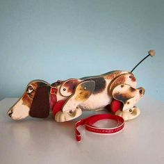 Our children both enjoyed this charming puppy pull toy.  Sweet!