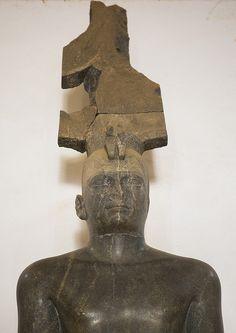 King Tharga, Nubian Pharaoh Of The 25Th Dynasty In The National Museum, Khartoum, Sudan