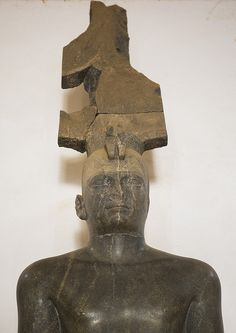 King Tharga, Nubian Pharaoh Of The 25Th Dynasty In The National Museum, Khartoum, Sudan