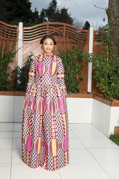 Mouna African Print Maxi Dress - Pink Source by plantaseednow Wedding Dress With Pockets, Dress Pockets, Latest African Styles, Ankara Short Gown Styles, African Wear Dresses, Shweshwe Dresses, Beautiful Maxi Dresses, The Dress, Pink