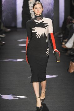 #moda Photos and comments to know the collection, the outfits and accessories of Diane von Furstenberg presented for Fall Winter 2012-13