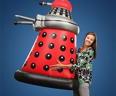 Doctor Who Giant Inflatable Dalek - https://tiwib.co/doctor-who-giant-inflatable-dalek/ #DoctorWho #gifts #giftideas #2017giftideas #xmas