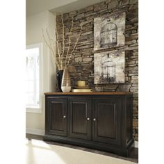 Signature Design By Ashley Shardinelle Two Tone Brown Dining Room Server |  Overstock.com