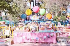 Vintage Disneyland Party with Really Cute Ideas via Kara's Party Ideas