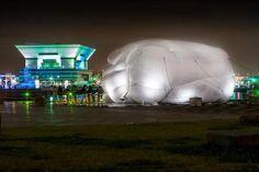 Outdoor Pavilion Hosts An Adult Jungle Gym Inside A Cloud [Pics]