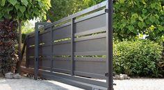 contemporary sliding gates - Google Search
