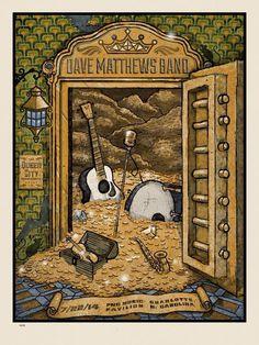 1000 images about dave matthews band concert posters on pinterest dave matthews band. Black Bedroom Furniture Sets. Home Design Ideas