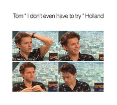 40 Funniest Tom Holland Memes That Will Make You Laugh Uncontrollably - 40 Funniest Tom Holland Memes That Will Make You Laugh Uncontrollably - Funny Marvel Memes, Dc Memes, Marvel Jokes, Funny Memes, Teen Wolf Memes, Funny Tom, Tom Holland Imagines, Tom Holand, Tom Holland Peter Parker