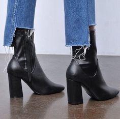 next Bottes Montantes Workwear à Talon carré Regular Femme Noir EU 41 QauAABZcL