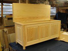 Cypress blanket chest