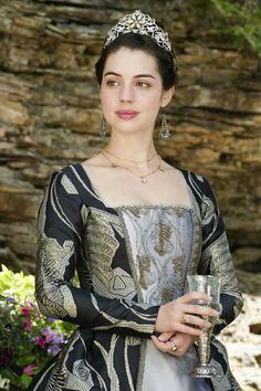 Reign, season 4, episode 2, A grain of deception. Queen Mary.