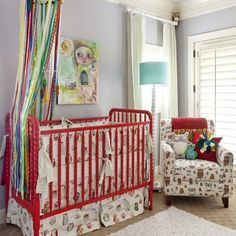 Iron Crib in 12 Designs for a Serene Touch in the Nursery