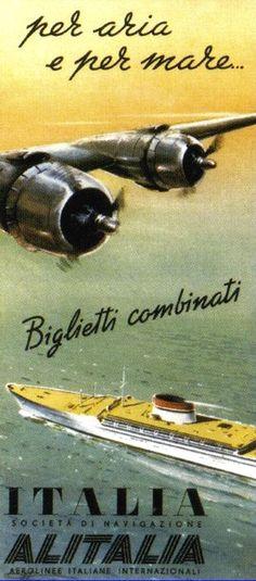 'Cristoforo Colombo' - Italia nav. - 1953
