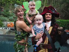 The Neil Patrick Harris family unit. See - no difference - kids raised by gay parents are going to be just as embarrassed as those raised by straight parents when the family pictures come out!