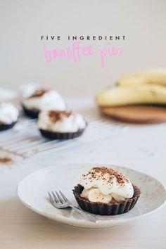 5 ingredient {easy peasy!} banoffee pie recipe