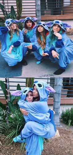 Disney Lilo Stitch One-piece Flannel Pajamas, Christmas Gift, Birthday Gift