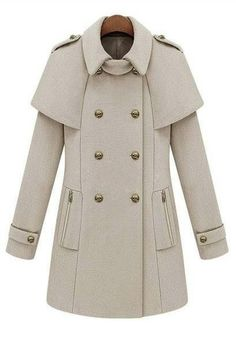 c35dd185abb Cute jacket Double Breasted Coat