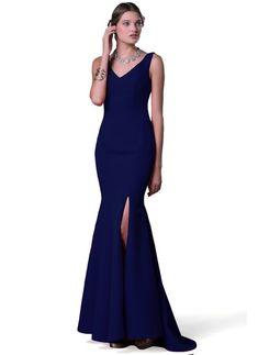 Pierre Cardin Kadın Uzun Abiye Elbise Lacivert | Morhipo | 21345521
