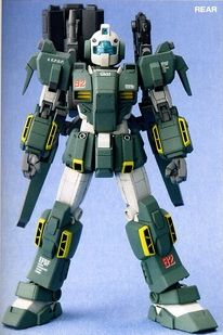 The GPB-GM79-31 Forever GM is a variant of the both the RGM-79 GM and the GPB-X78-30 Forever Gundam featured in Model Suit Gunpla Builders Beginning J.