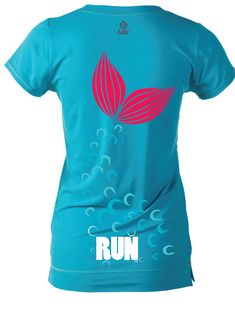 Our Mermaid Princess on a V-Neck Tee from Raw Threads