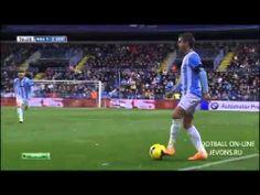 Malaga vs Sevilla' (3-2) All Goals & highlights 01.02.2014