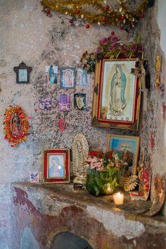 LA VIRGEN DE GUADALUPE~Virgen de Guadalupe shrine