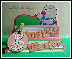 Scrapbook Blessings Club: April SBC Challenge: ANYTHING GOES w/ PINK< WHITE and GREEN