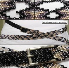 Beaded Peyote Belt