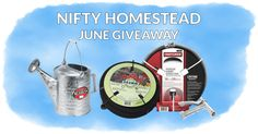 Nifty Homestead - June's Contest Giveaway