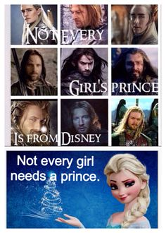 Lord of the Rings, The Hobbit and Frozen... EVERYONE NEEDS A KILI