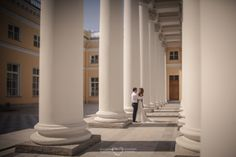 Palace. Wedding. When two people love each other